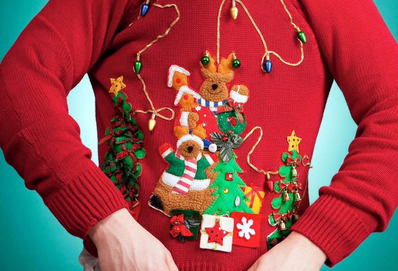 Kersttrui Heren Met Lampjes.15x De Foutste Kersttruien Dudes Dont S