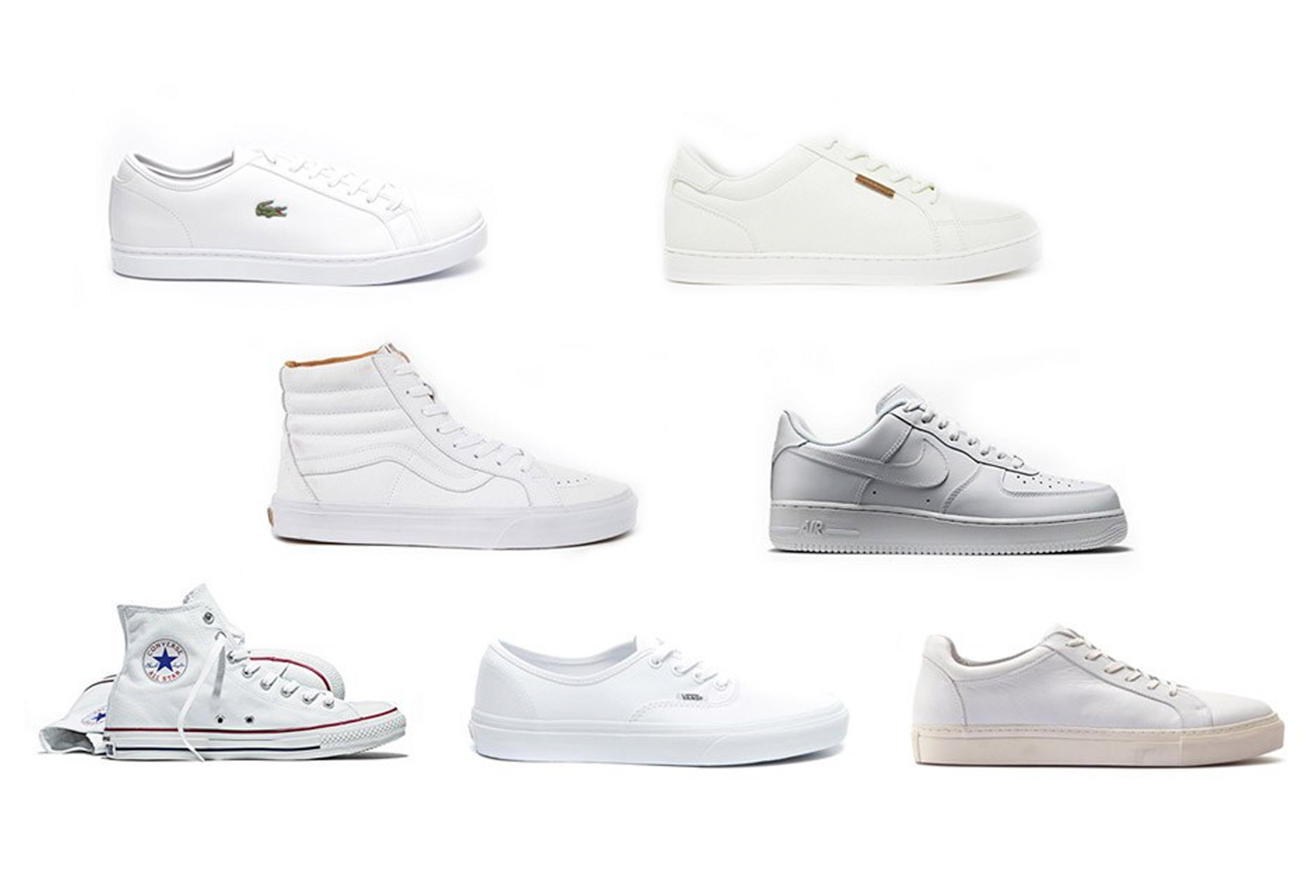698d2ab0e4b Trend: witte sneakers | Dudes & Dont's
